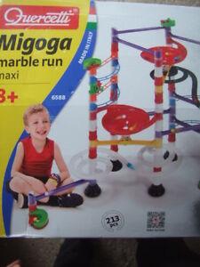 new Italy Migoga Marble Run, Maxi, 213 pcs,