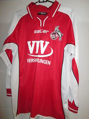 1 FC Koln 2002-2003 Home Long Sleeve Football Shirt Size Small image