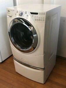 Whirlpool 10KG washer with pedestal draw 3 months warranty