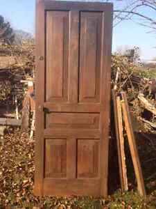 Solid Wood Doors - Some Interior, Some Exterior
