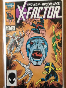 X-FACTOR #6 comic book- 1st appearance of APOCALYPSE - Key Issue