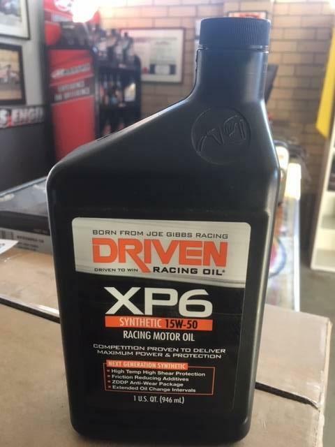 Joe Gibbs DRIVEN engine oil | Oil, Coolant & Liquids