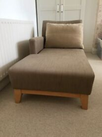Chaise Longue (John Lewis) - Immaculate Condition
