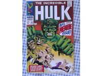 Incredible Hulk 102 reprint