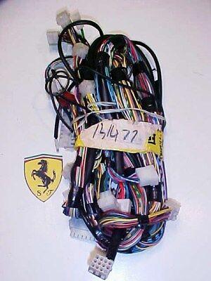 Ferrari Testarossa Dashboard Wiring Harness_131477_512TR_WIRE CABLE HARNESS_OEM