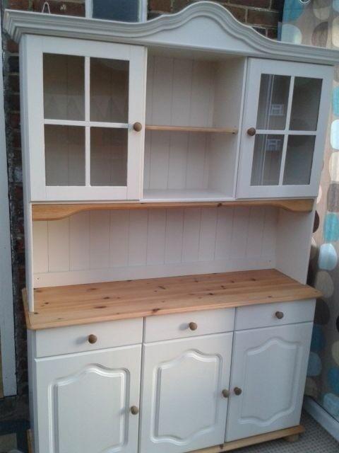 Dresser Pine Welsh Display Cabinet