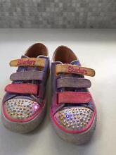 Sketchers girls shoes Size 13 that light up Wembley Downs Stirling Area Preview
