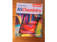 EDEXCEL AS CHEMISTRY GEORGE FACER 2ND EDITION STUDENT BOOK FOR SALE !