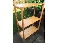 Shelving quality solid pine 3 shelves