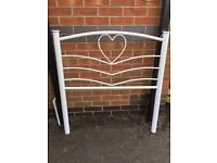 Almost new childs single bed and mattress