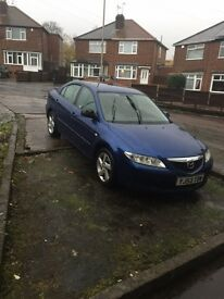 2004 MAZDA 6 TS2 PETROL MANUAL , PERFECT CAR , PERFECT RUNNER , MOT 8 MONTHS , HPI CLEAR