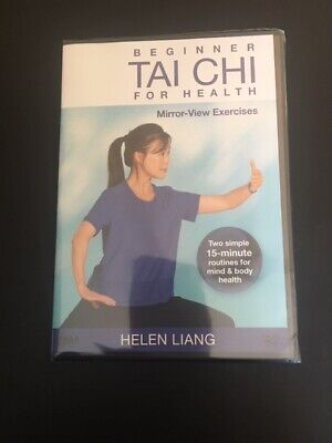 Beginner Tai Chi for Health: Mirror-View Exercises by Helen Liang (YMAA) **BESTS