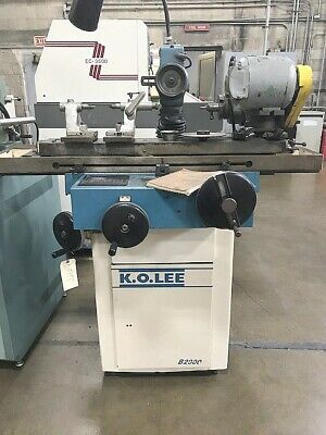 K.o.lee Tool And Cutter Grinder Model B2000 1996