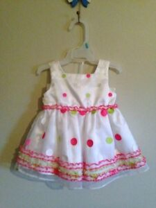 Baby Girl dresses 0-12 months assorted