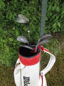 Junior golf clubs for kid who wants to try the game