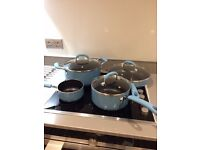 Set of pots and pan