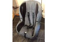 Maxicosi car seat for age 1-4, seatbelt attachment