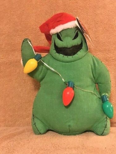 DISNEY THE NIGHTMARE BEFORE CHRISTMAS OOGIE BOOGIE PLUSH ANIMATED NEW WITH TAGS