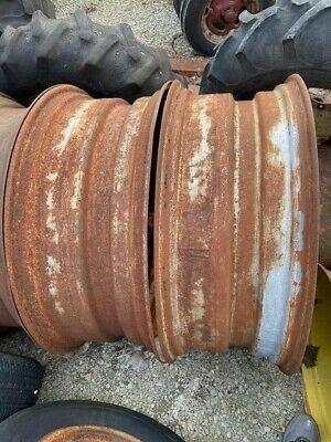 Farmall M Sm Sh H Mta Tractor Ih 14 X38 Rear Tractor 15.5 Tire Rim Rims Jd A G
