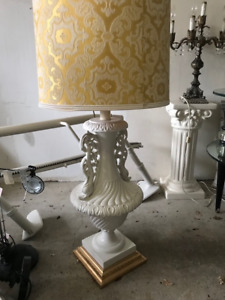 Retro vintage lamps and chandelier for sale