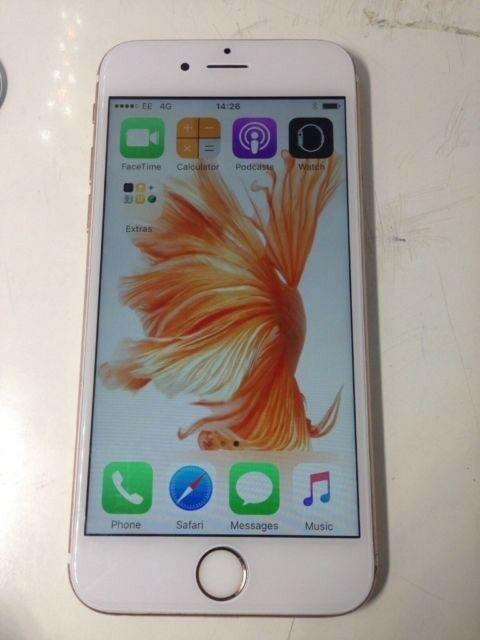 iPhone 6s rose gold 16GB only £215
