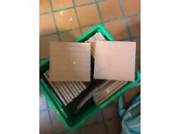 Dennis Ruabon 9 inch square Brand New Quarry Tiles : Must Sell