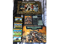 Space Crusade Complete & Warhammer 40,000 Starter Set 3rd Edition with Extra Sets