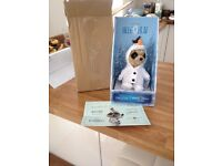 Oleg as Olaf meerkat toy new, boxed