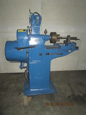 100 Year Old Lathe Bushing Machine In Excellent Condition