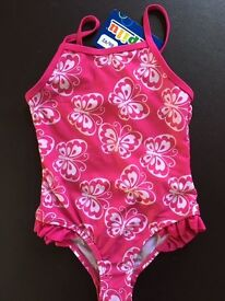 Girl swimming costume 12-24m. Brand new with tag