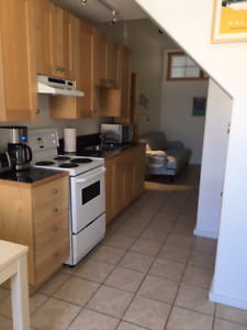 1 bed contemporary apt. Furnished & Utiliites included $1400 p/m