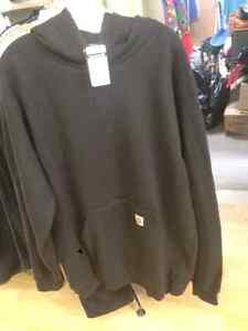 BRANDNEW CARHART SWEATER AND LOTS OF JACKETS