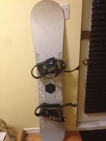 HEAD Snowboard / Planche a neige + Boots/Bottes size 6
