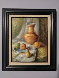 Oil Painting of food (Italian Styled)