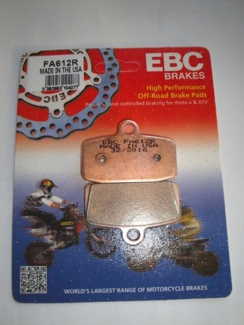 KTM SX 85 EBC FRONT BRAKE PADS FA612R FITS YEARS 2012 TO 2017 X 1 SET