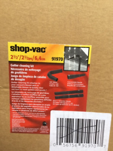 shop vac gutter cleaning kit