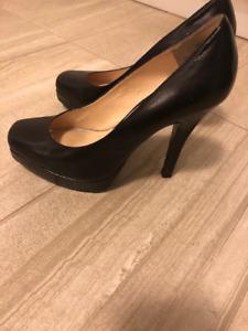 Nine West Black Heels Size 7