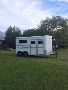 Horse trailer/Miley /Grande Pre area./Make an  offer.