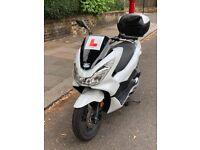 Honda PCX white 2016- 125cc Learner Legal, Excellent condition £2150 ono