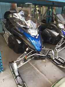 2014 YAMAHA VENTURE MP TRAIL SLED 2 UP SEAT