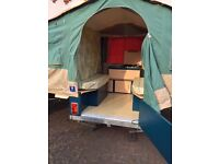 Trailer Tent, French make Raclet. Quickstop model, very fast erection. Excellent condition