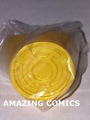 Green Lantern Blackest Night Plastic Ring - YELLOW LANTERN RING - FEAR