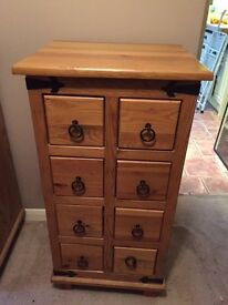 Pine Storage Cabinets ideal for CD's (3 available)