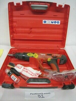 Hilti Dx-460 Concrete Fastener Nailer Powder Actuated Gun With Case 2