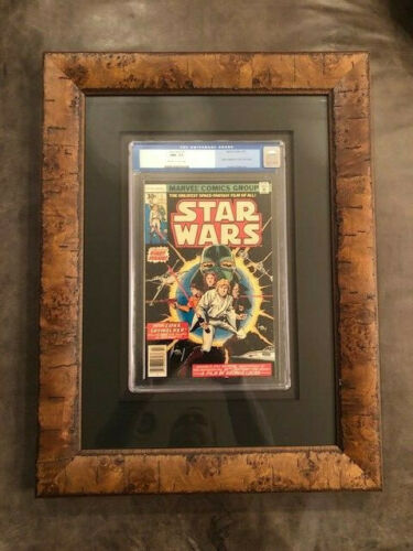 Star Wars #1 Marvel Comics 1977 CGC NM+ First Print Part 1 A New Hope