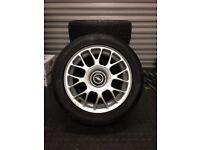 "TSW Hockenheim 15"" Alloy Wheels & 205 50 15 Falken Tyres"
