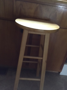 Solid wood 29 inch high bar stool for sale