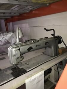 Used industrial long arm sewing machine for sale-Singer 300W20.