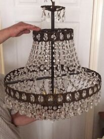 3 Vintage Style Chandeliers