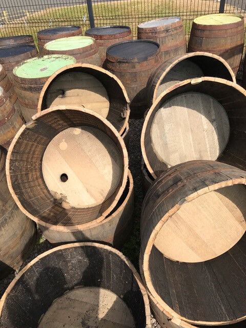 Half Whisky Barrels For Sale In Dunfermline Fife Gumtree